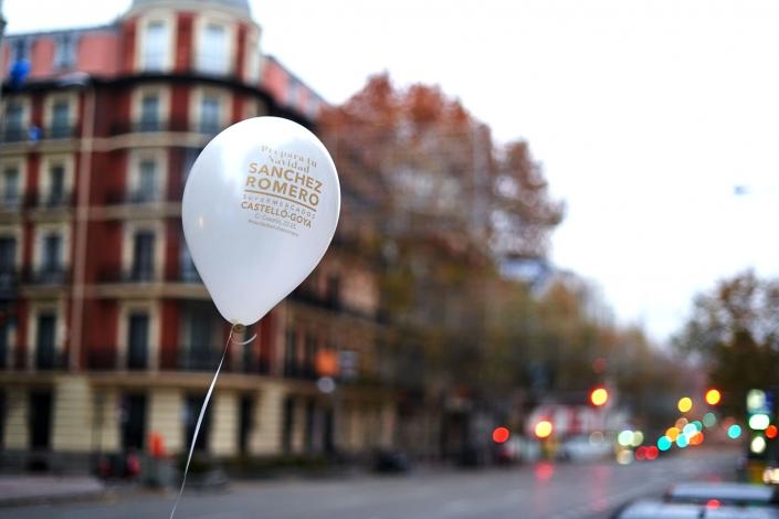 El globo y el barrio