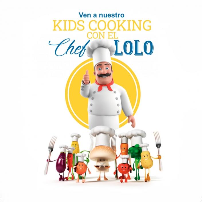 Concurso de cocina infantil: el Chef Lolo cocinará con los niños en Moraleja Green