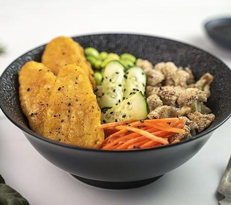Poke bowl de Fishless Filets