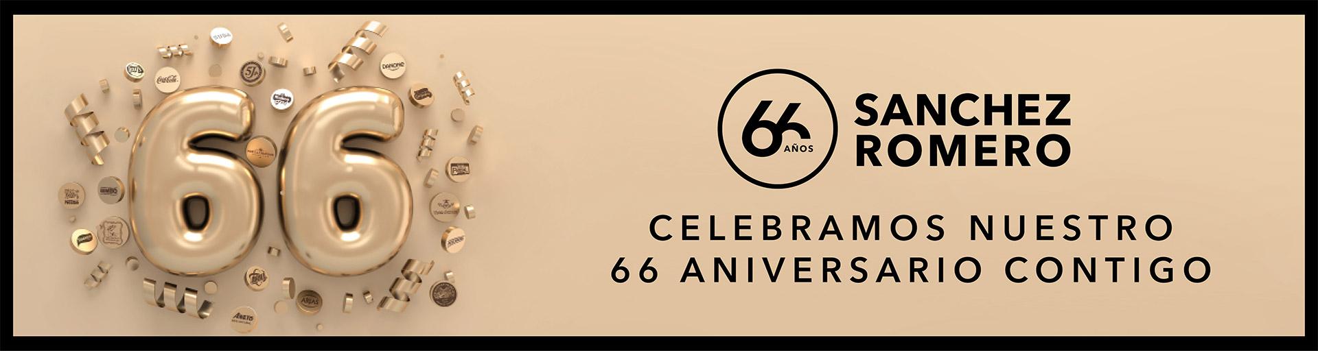 Celebramos nuestro 66 aniversario contigo