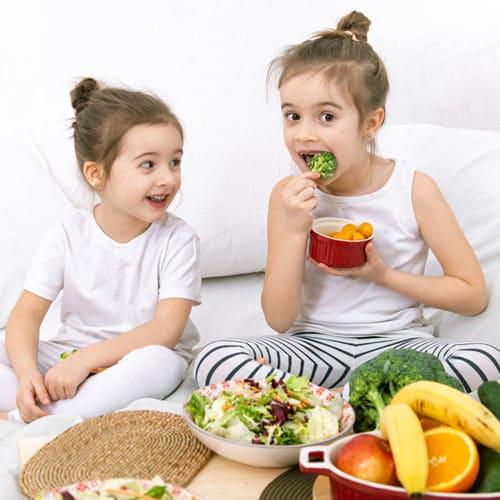 Alimentación saludable niños
